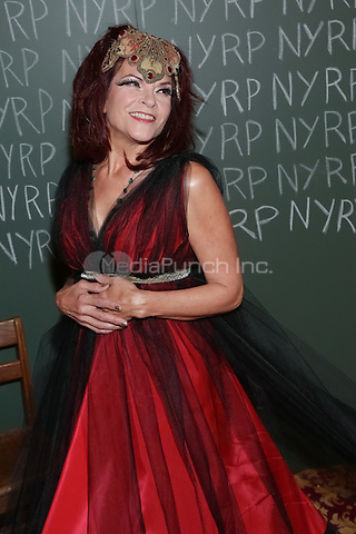 """NEW YORK, NY - OCTOBER 31 : Singer/Songwriter Rosanne Cash arrives for the New York Restoration Project's 19th Annual Hulaween Gala """"FELLINI HULAWEENI"""" held at the Waldorf Astoria on October 31, 2014 in New York City.  (Photo by Brent N. Clarke / MediaPunch)"""