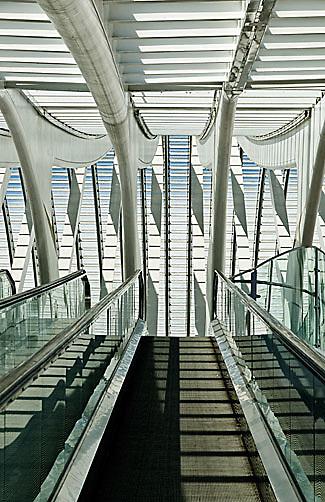 Liege Guillemins Station, Liege, Belgium