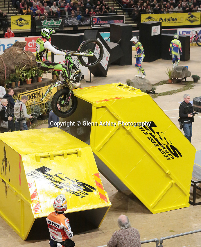 Indoor Motorcycle Trials, Sheffield, 7 January 2017 | Glenn