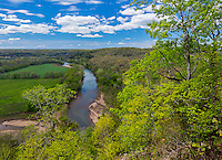 Buffalo National River, Arkansas: Buffalo River near Tyler Bend in spring