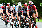 Thomas De Gendt (BEL) Lotto-Soudal leads the breakaway group during Stage 12 of the 104th edition of the Tour de France 2017, running 214.5km from Pau to Peyragudes, France. 13th July 2017.<br /> Picture: ASO/Alex Broadway | Cyclefile<br /> <br /> <br /> All photos usage must carry mandatory copyright credit (&copy; Cyclefile | ASO/Alex Broadway)