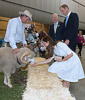 Kate, Duchess of Cambridge & Prince William visit the Royal Easter Show in Sidney - Australia