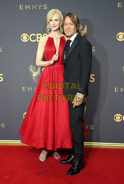 17 September 2017 - Los Angeles, California - Nicole Kidman, Keith Urban. 69th Annual Primetime Emmy Awards held at Microsoft Theater. <br /> CAP/ADM/FS<br /> &copy;FS/ADM/Capital Pictures