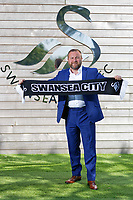 Pictured: Graham Potter. Monday 11 June 2018<br /> Re: Graham Potter is announced as the new manager for Swansea City AFC at the Fairwood Training Ground, south Wales, UK.