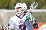 Manhattan Beach, CA 02-11-17 - Jon Edwards (Loyola Marymount #2) in action during the MCLA non-conference game between LMU (SLC) and Santa Clara (WCLL).  Santa Clara defeated LMU 18-3.