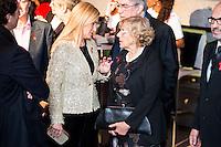 Cristina Cifuentes and Manuela Carmena attends to the photocall of the Gala Sida at Palacio de Cibeles in Madrid. November 21, 2016. (ALTERPHOTOS/Borja B.Hojas) //NORTEPHOTO.COM