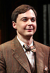 "Jim Parsons.pictured at the Opening Night Curtain Call for the Roundabout Theatre Company's Broadway Production of  ""Harvey"" at Studio 54 New York City June 14, 2012"