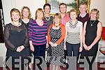 Pictured at the Callinafercy Rowing Club social in The Manor Inn, Killorglin on Friday night were Gina Halliday, Mary O'Sullivan, Geraldine O'Sullivan, Sandra Lambe, Sheila Hurley, John Joe O'Sullivan, Annie and Ben O'Sullivan and Margot Lawlor.  ....