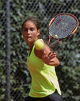 Hilversum, Netherlands, August 10, 2016, National Junior Championships, NJK, Isabella Mujan (NED)<br /> Photo: Tennisimages/Henk Koster