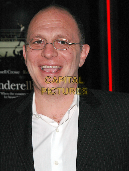 """AKIVA GOLDSMAN.The New York premiere of her new film, """"Cinderella Man"""" at the Loews Lincoln Square Theater,New York, New Yor.June 1st, 2005.Photo Credit: Patti Ouderkirk/AdMedia.headshot portrait glasses mouth open.www.capitalpictures.com.sales@capitalpictures.com.© Capital Pictures."""
