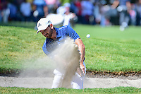 Sergio Garcia (ESP) hits from the trap on 6 during round 2 of the World Golf Championships, Mexico, Club De Golf Chapultepec, Mexico City, Mexico. 3/3/2017.<br /> Picture: Golffile | Ken Murray<br /> <br /> <br /> All photo usage must carry mandatory copyright credit (&copy; Golffile | Ken Murray)