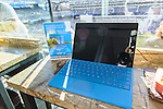 Microsoft Surface with The NY Giants