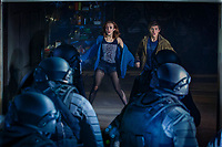 Ready Player One (2018) <br /> Olivia Cooke &amp; Tye Sheridan<br /> *Filmstill - Editorial Use Only*<br /> CAP/KFS<br /> Image supplied by Capital Pictures