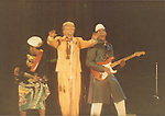 David Bowie, Carmine Rojas & Carlos Alomar performing live in 1983.