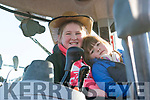 Molly and Katy May Greaney enjoying the Tractor Run in Lispole on Sunday afternoon.
