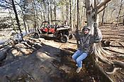 ATV in Ozark National Forest
