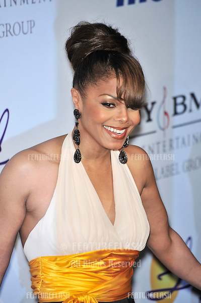 Janet Jackson at music mogul Clive Davis' annual pre-Grammy party at the Beverly Hilton Hotel..February 9, 2008  Los Angeles, CA.Picture: Paul Smith / Featureflash