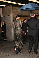 www.acepixs.com<br /> April 19, 2017 New York City<br /> <br /> Kendall Jenner was seen arriving to the Harper's Bazaar 150th Anniversary celebration at the Rainbow Room on April 19, 2017 in New York City.<br /> <br /> Credit: Kristin Callahan/ACE Pictures<br /> <br /> Tel: (646) 769 0430<br /> e-mail: info@acepixs.com