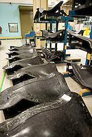 GENX1B fan blades preparing for cure mold