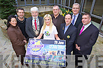 Cora Carraig, Kerry Recreation & Sports Partnership, Jim Breen, Johnny Wall, Mayor of Tralee, Genevieve Keane, Eoin Hand, FAI, Martin Conway, Kerry Schoolboys Soccer, Liam Lynch (Organiser)  and Patrick O'Sullivan, Chairman Kerry County Board launch Kerry Activity experience which takes place from the 29th of June to the13th of July.