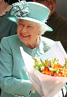 MAY 22 The Queen visits Sainsburys to mark their 150th Anniversary
