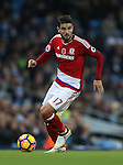 Antonio Barragan of Middlesbrough during the Premier League match at the Etihad Stadium, Manchester. Picture date: November 5th, 2016. Pic Simon Bellis/Sportimage
