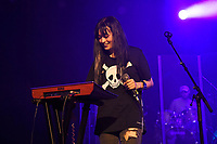 LONDON, ENGLAND - AUGUST 9: Sarah Midori Perry of 'Kero Kero Bonito' performing at Nile Rodgers' Meltdown at Queen Elizabeth Hall on August 9, 2019 in London, England.<br /> CAP/MAR<br /> ©MAR/Capital Pictures
