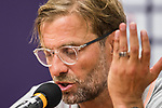 Liverpool FC Coach Jurgen Klopp speaks at the press conference after the Premier League Asia Trophy match between Liverpool FC and Crystal Palace FC at Hong Kong Stadium on 19 July 2017, in Hong Kong, China. Photo by Yu Chun Christopher Wong / Power Sport Images