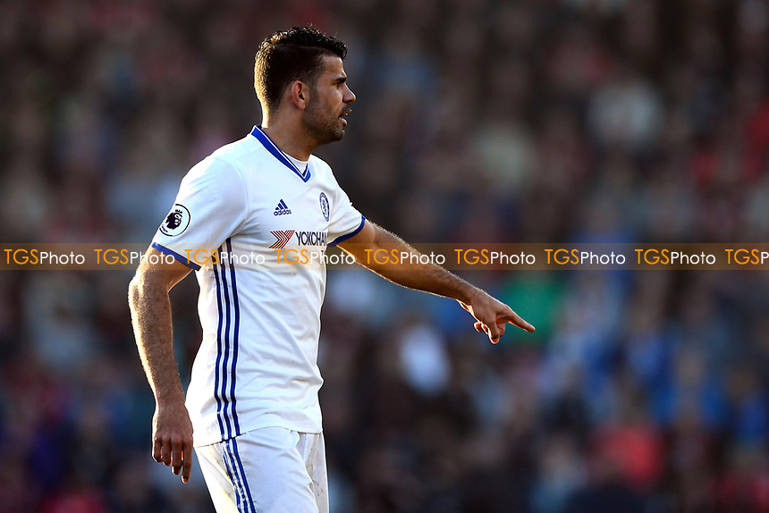 Diego Costa of Chelsea during AFC Bournemouth vs Chelsea, Premier League Football at the Vitality Stadium on 8th April 2017