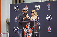 LOS ANGELES - NOV 1:  Mariah Carey, Lee Daniels at the Mariah Carey Hand and Footprint Ceremony at the TCL Chinese Theater IMAX on November 1, 2017 in Los Angeles, CA