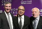 Preston Whiteway, George C. Wolfe and Hal Prince attends the 16th Annual Monte Cristo Award ceremony honoring George C. Wolfe presented by The Eugene O'Neill Theater Center at Edison Ballroom on May 9, 2016 in New York City.