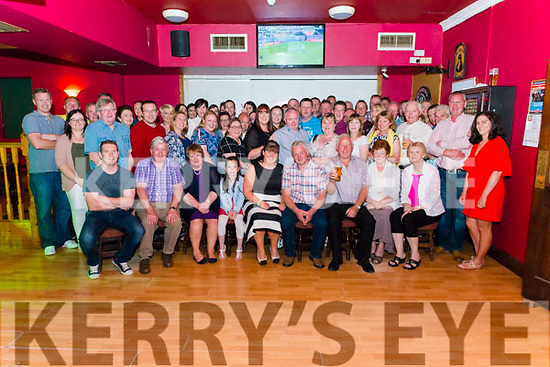 Tina Lenihan from Kilcummin and Ian Ahern from Listowel celebrated their engagement surrounded by friends and family in the Village Inn, Kilcummin last Saturday night.