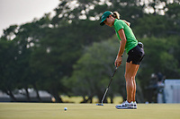 Jaye Marie Green (USA) watches her putt on 18 during round 4 of the 2019 US Women's Open, Charleston Country Club, Charleston, South Carolina,  USA. 6/2/2019.<br /> Picture: Golffile | Ken Murray<br /> <br /> All photo usage must carry mandatory copyright credit (© Golffile | Ken Murray)