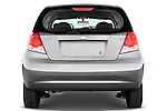 Straight rear view of a 2008 Chevrolet Aveo 5 LS