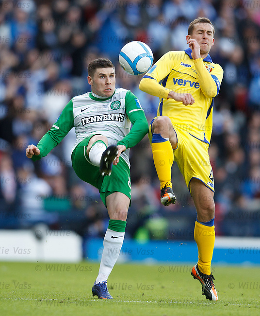 Gary Hooper and James Fowler