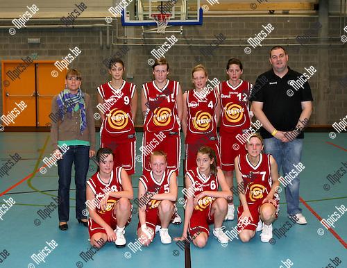 2009-05-16 / Basketbal / Beker van Antwerpen Jeugd / .Meisjes Junioren / Willebroek..Foto: Maarten Straetemans (SMB)