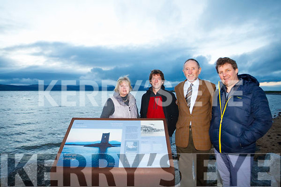 The Fenit Development committee behind the Restore Fenit Diving Boards Campaign: L to R: Nanette Moore, John Edwards, Billy Ryle and Mike O'Neill,