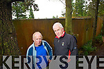Dr Alan Mee and Minister Jimmy Deenihan at the Eagle pens in Tomies Wood, Killarney National Park.