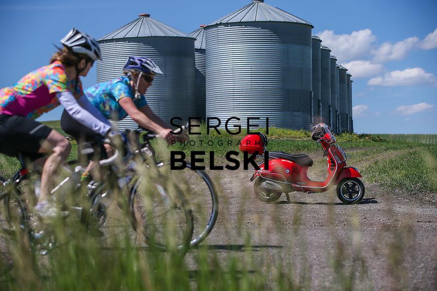 Horse Racing My Vespa Adventures. Mandatory Credit: Sergei Belski