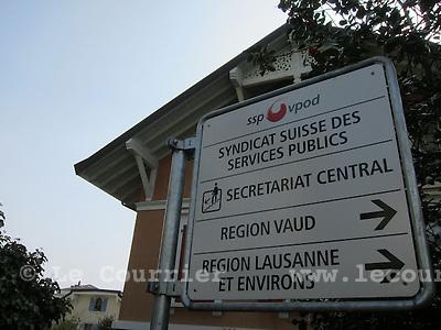 Lausanne, 15.03.2016<br /> Locaux du Syndicat des services publics Vaud (SSP Vaud)<br /> &copy; Mario Togni / Le Courrier