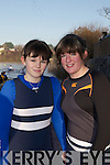 Karen Ronane and Mary O'Shea the Killorglin Head of the River on Saturday