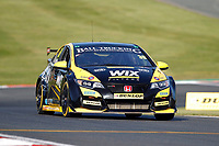 Round 10 of the 2018 British Touring Car Championship.   #39 Brett Smith. Wix Racing with Eurotech. Honda Civic Type R.