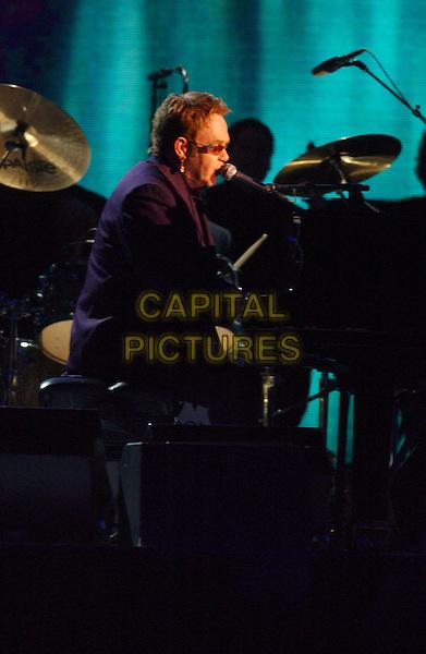 15 November 2005 - New York, New York - Elton John. 39th Annual CMA Awards held at Madison Square Garden. Photo Credit: Laura Farr/AdMedia