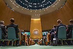 DSG meeting<br /> <br /> Opening of the General Debate of the Seventy-third Session of the United Nations<br /> <br />                         General Assembly including a Moment of Silence for former Secretary-General Kofi A. Anna