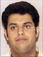Washington, DC - September 26,  2001 -- Photo released by FBI of  Waleed M. Alshehri, one of the alleged hijackers of American Airlines Boeing 767 designated as Flight #11, from Boston to Los Angeles.  The flight departed Boston at 7:45 AM on Tuesday, September 11, 2001 and crashed into the North Tower of the World Trade Center  an hour later at 8:45 AM..Credit: FBI via CNP