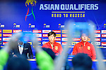 China PR's Press Conference prior to their 2018 FIFA World Cup Russia Final Qualification Round Group A match between Korea Republic vs China PR at Seoul World Cup Stadium on 31 August, in Seoul, South Korea. Photo by Marcio Machado / Power Sport Images
