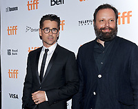 09 September 2017 - Toronto, Ontario Canada - Colin Farrell, Yorgos Lanthimos. 2017 Toronto International Film Festival - &quot;The Killing Of A Sacred Deer&quot; Premiere held at The Elgin. <br /> CAP/ADM/BPC<br /> &copy;BPC/ADM/Capital Pictures