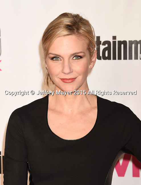 WEST HOLLYWOOD, CA - NOVEMBER 15: Actress Rhea Seehorn attends VH1 Big In 2015 With Entertainment Weekly Awards at Pacific Design Center on November 15, 2015 in West Hollywood, California.