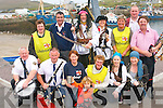 Portmagee will come alive this weekend with the first-ever Sea Shanty festival..Front L-R Pat Pigott, Tommy Mcgillycuddy (Killorglin District Pipe Band), Patricia Kennedy,  Daniel Thanel, Ann O'Leary, Myra Hulme and Mary Lane .BAck L-R Margaret Curran, Tommy Gilligan (Valentia Lifeboat),  Gabriel Butler (Captain Theobald Magee), Helen Farmer, Betty O'Connor, Mark Flanagan and Ger Donoghue (Valentia Pipe band)