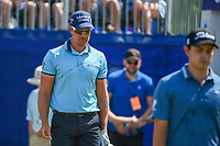 Henrik Stenson (SWE) heads down 1 during Round 3 of the Zurich Classic of New Orl, TPC Louisiana, Avondale, Louisiana, USA. 4/28/2018.<br /> Picture: Golffile | Ken Murray<br /> <br /> <br /> All photo usage must carry mandatory copyright credit (&copy; Golffile | Ken Murray)